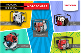 Infografia Motobombas Honda