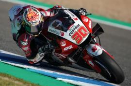 Nakagami a solo 0.690 segundos del podio en Jerez