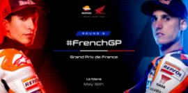 Repsol Honda Team preparado para el GP de Francia