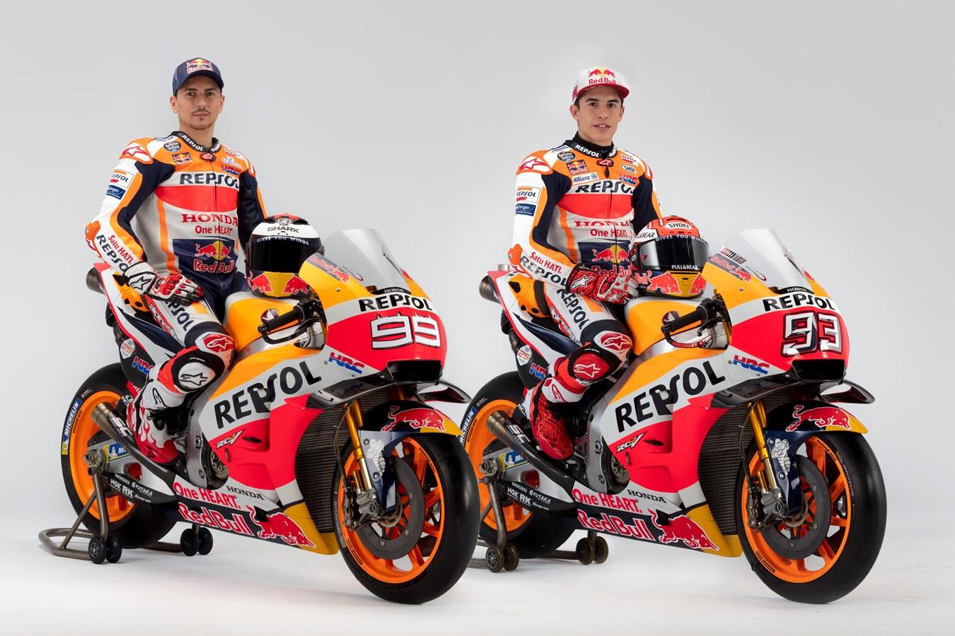 Repsol Honda Team show off 2019 colours